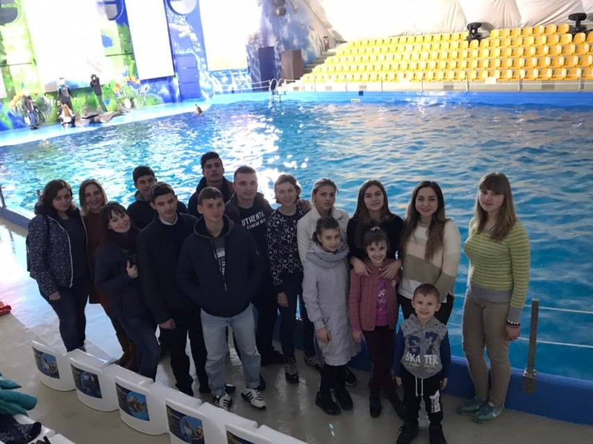 Visit to the dolphinarium - Визит в дельфинарий