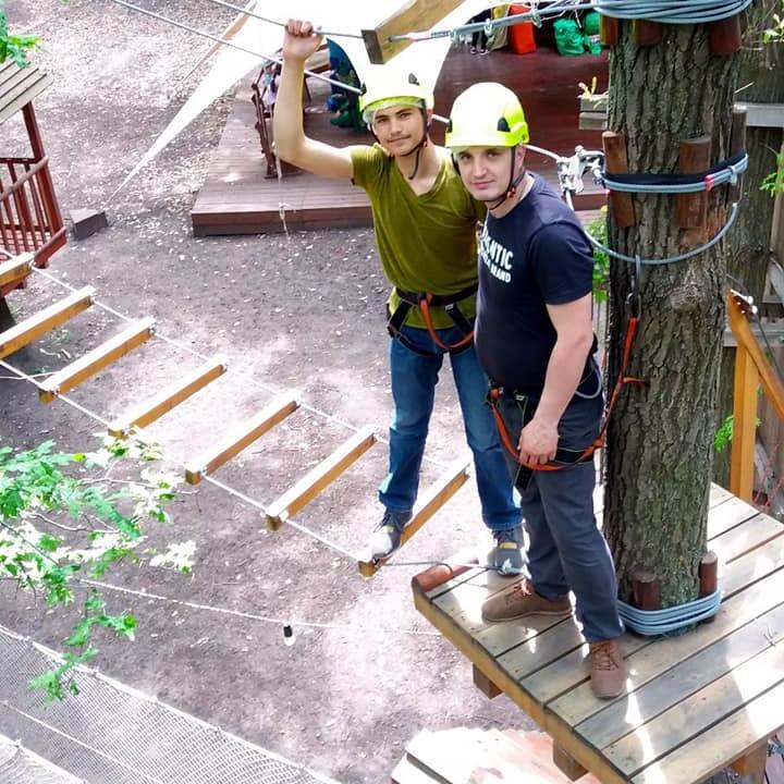 We conquered the height – Мы покорили высоту!