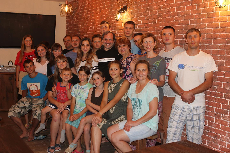 Happy Birthday pastor Vitaly! – С днём рождения, пастор Виталий!