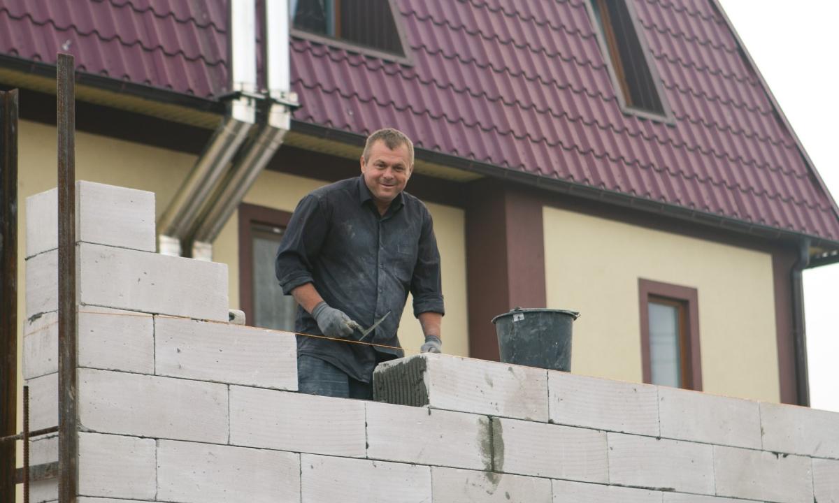 Construction – Строительство