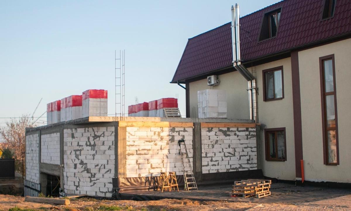 Building material for next steps – Стройматериалы для следующего этапа