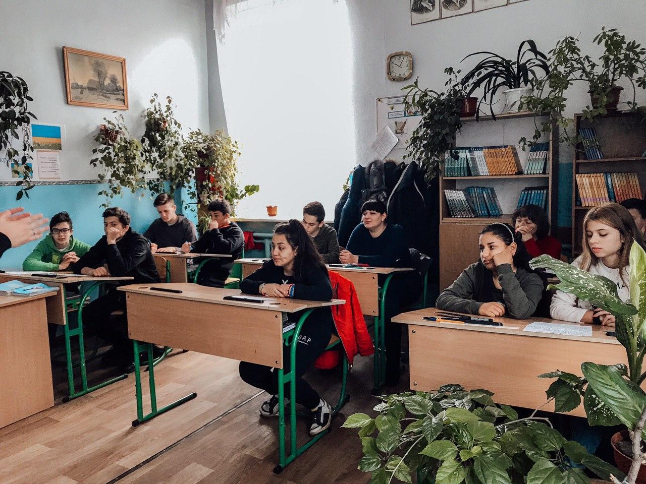 Meeting with future graduates