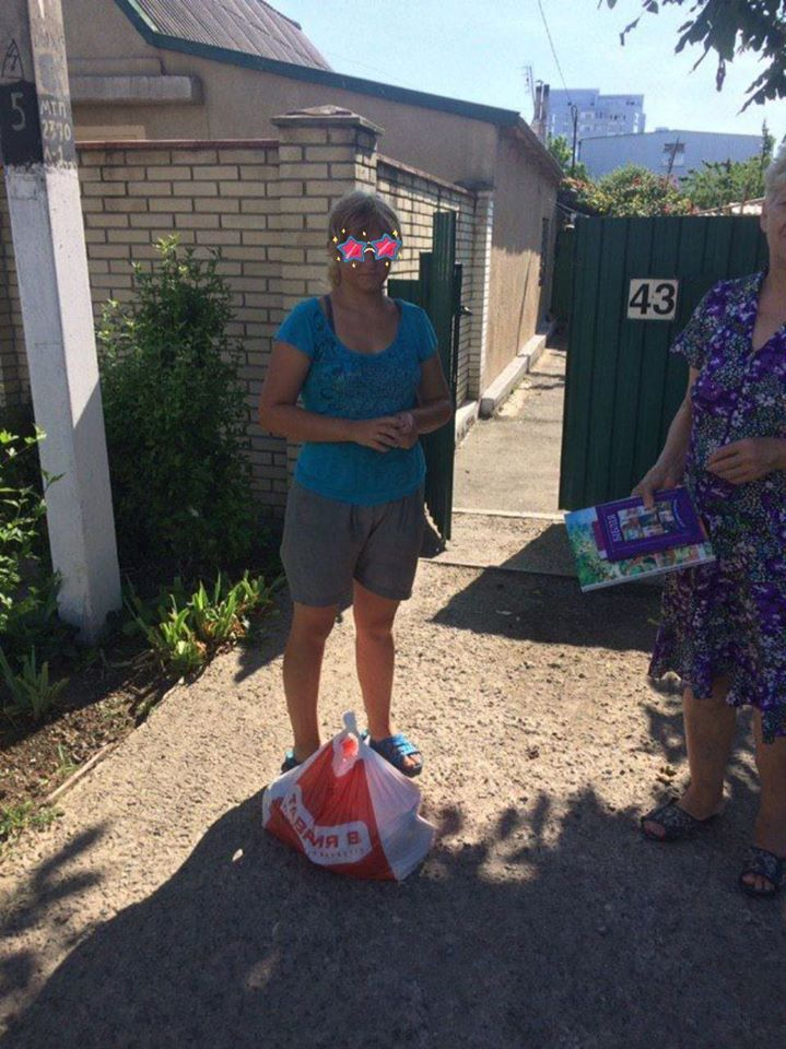 Grocery sets delivered to adresses