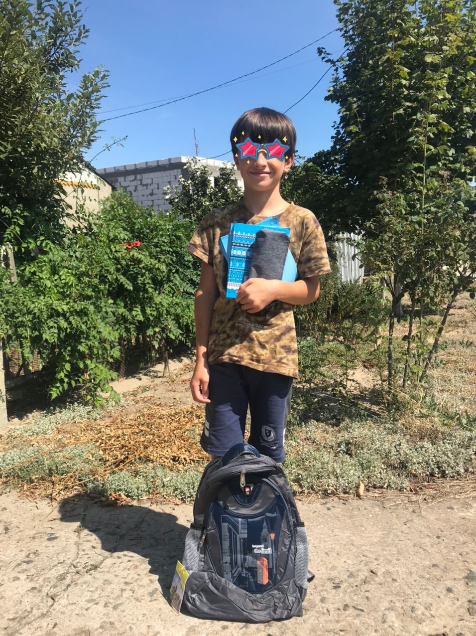 Starting deliver school kits