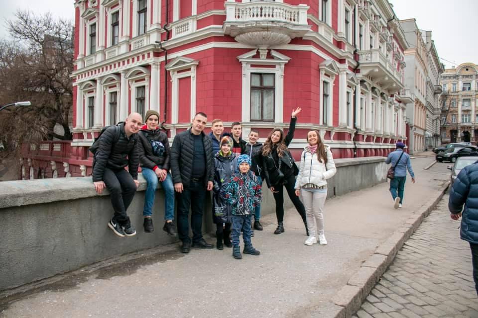 Walk in Odessa